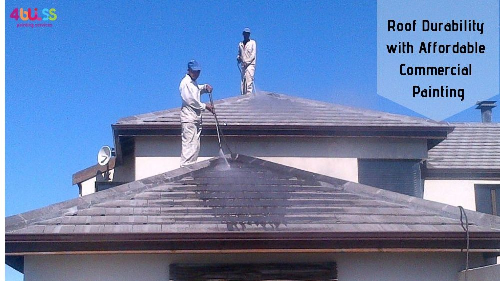Extend Roof Durability With Affordable Commercial Painting In Sydney Painting Services Commercial Construction House Painter