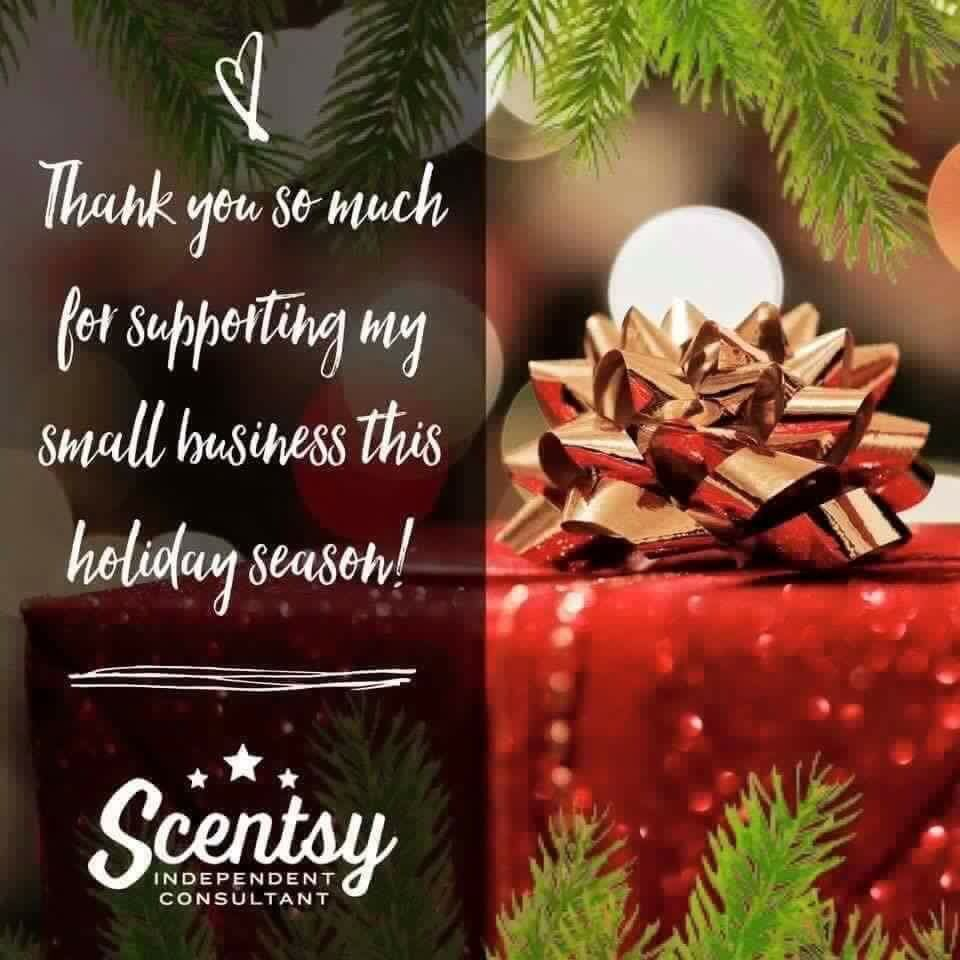 Christmas Party Ideas For Small Business Part - 16: Thank You SO Much For Supporting My Small Business This Christmas And  Holiday Season #scentsbykris