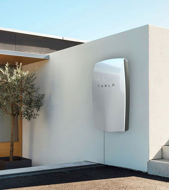 Tesla Solar Battery >> Tesla Home Battery Powerwall Is A Home Battery That Charges Using