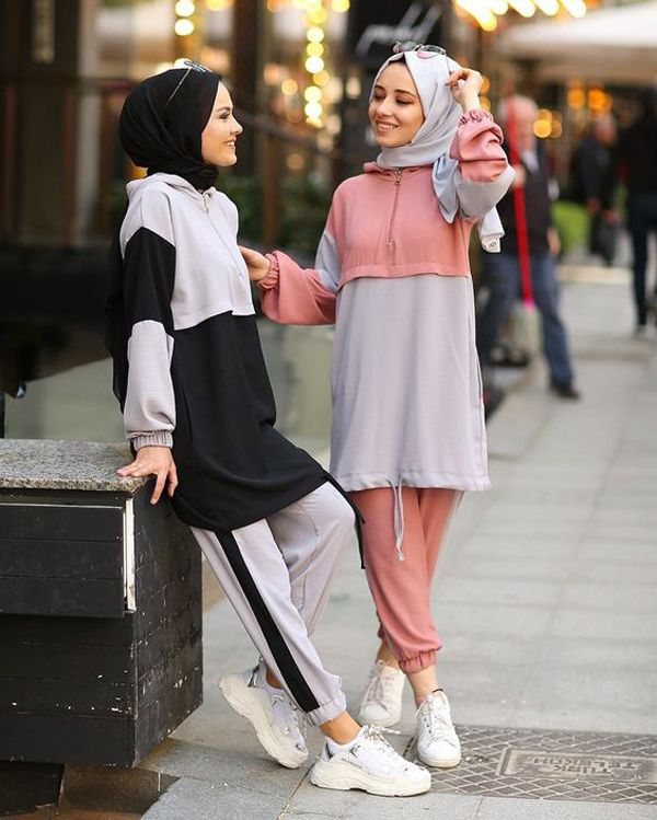 50 Chic And Comfy Hijab Outfits For Sport Lovers   Inspiration Your Fashion And Style