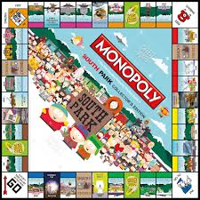 South Park Collector S Edition Board Games Monopoly Board South Park