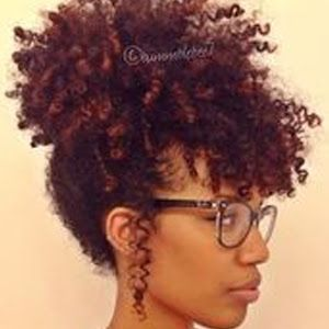 Hair Color On Natural Best 25 Dyed Ideas Pinterest African