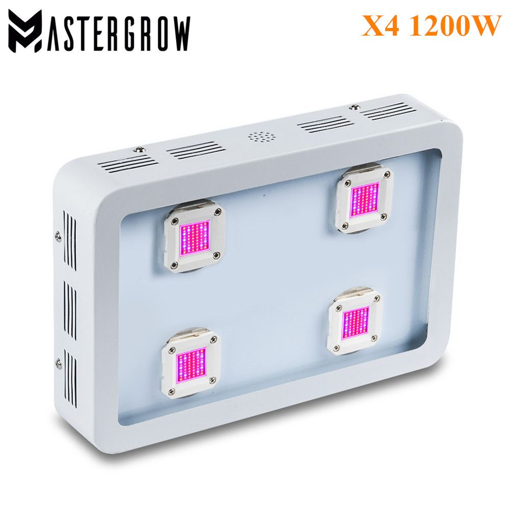Led Grow Lights Fitolampa Kupit Bestv X4 1200 Vt Cob Svetodiodnyj Svetat Paneli Polnyj Spektr 410 730nm Led Grow Lights Growing Plants Indoors Grow Lights