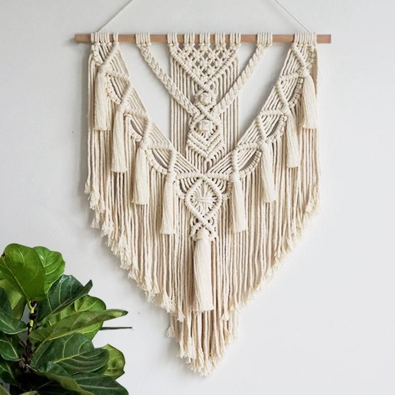 Modern Macramé Chic Wall Art Tapestry
