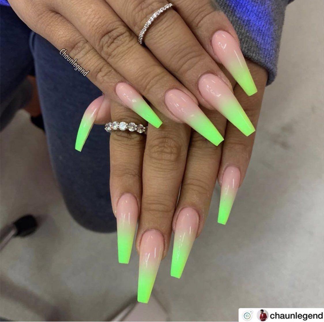 Uavaisy On Twitter Unpopular Opinion Nail Salon Neon