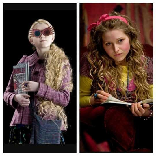 Luna Lovegood Lavender Brown Lavender Brown Harry Potter Luna Lovegood