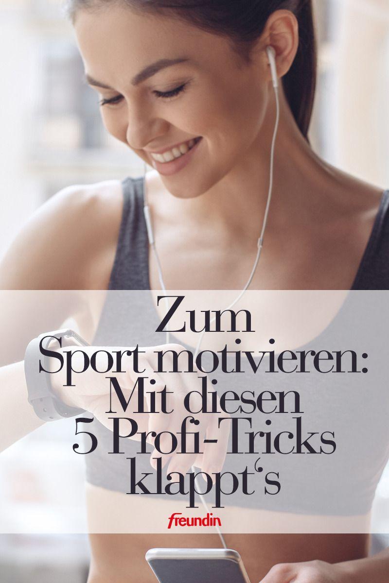 Fitness-Gurus: Mit diesen 5 Tricks motivieren wir uns zum
