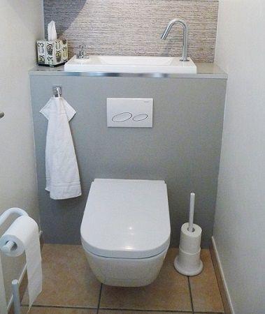 Pose Dun WC Suspendu Espaces De La Maison En 2019 Wc