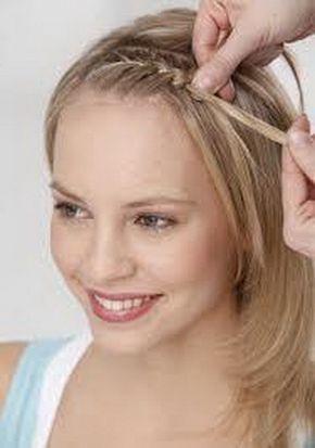 Pony Wegstecken Frisuren Hairdress Hair Styles Hair Und Short