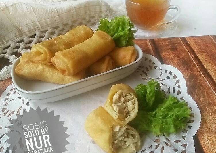 Resep Sosis Solo Pr Jajanandaerah Oleh Nur Sabatiana Resep Makanan Makanan Dan Minuman Resep Sosis