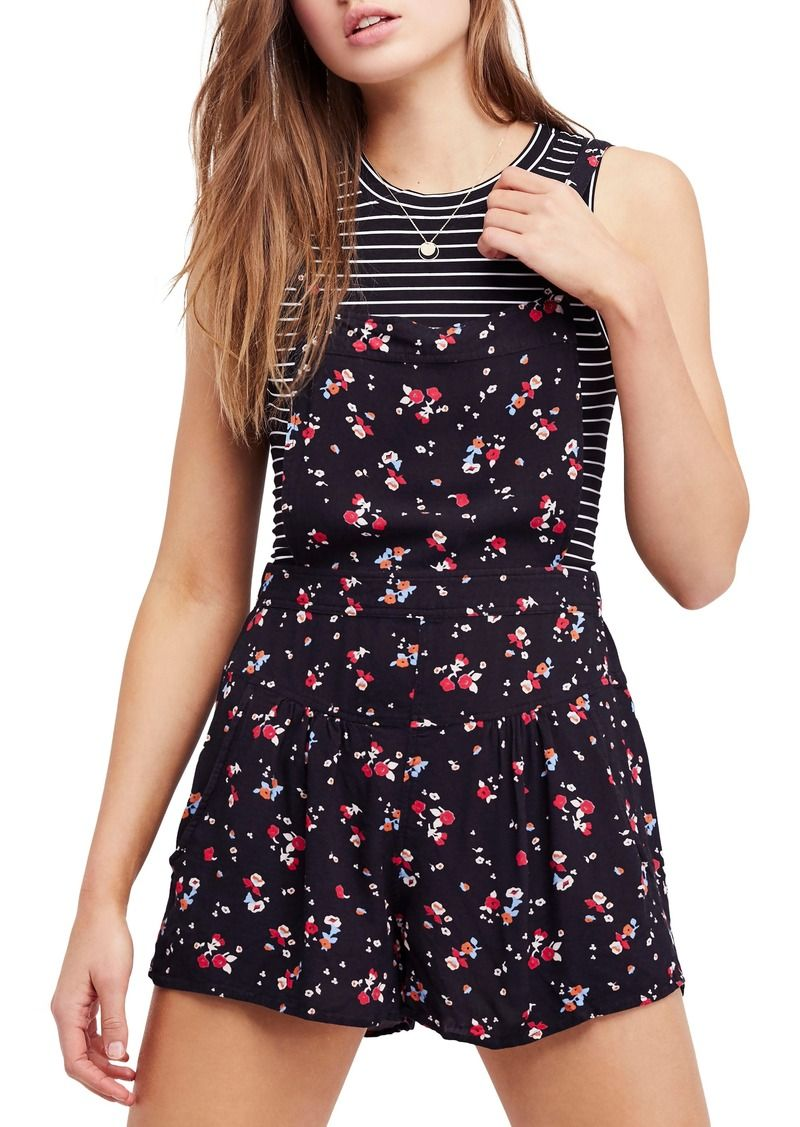 a568ed4c37a Free People Sweet in the Streets Short Overalls
