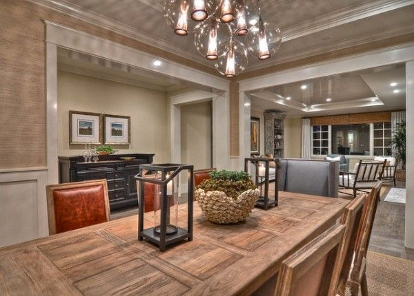 Grasscloth-Wallpaper-Ideas.-The-grasscloth-wallpaper-brings-warmth-to-this-dining-room.-This-is-a-Phillip-Jeffries-grasscloth-wall-covering.-Wallpaper-Grasscloth-