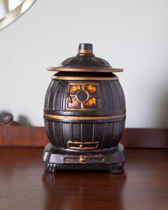 Mccoy Cookie Jar Potbelly Stove Retro Kitchen Mccoy Cookie Jars Jar Cookie Jars