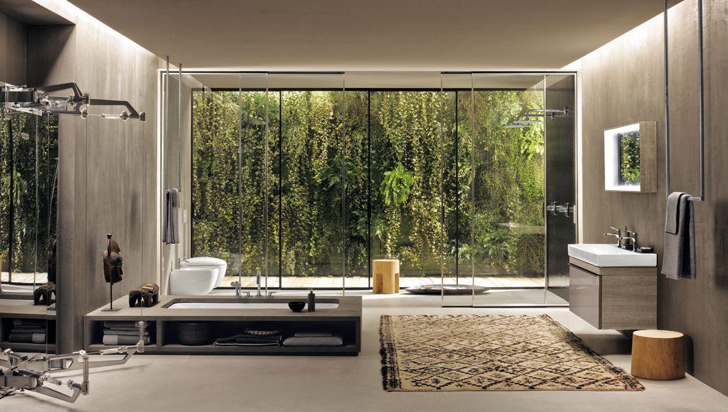 La salle de bains du designer Antonio Citterio | Salle de bains ...