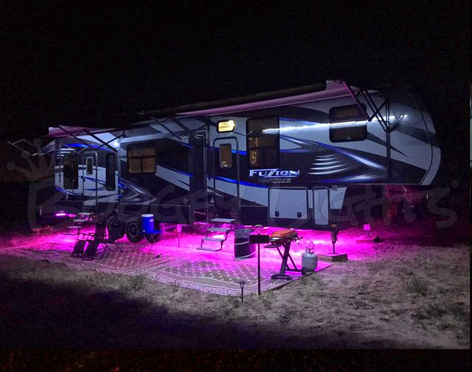 Rv Multi Color Led Under Glow Light Kit Camper Lights Rv Led