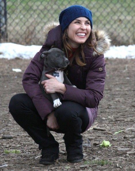 Noomi Rapace Photos Photos: 'Animal Rescue' Films in NYC #animalrescue