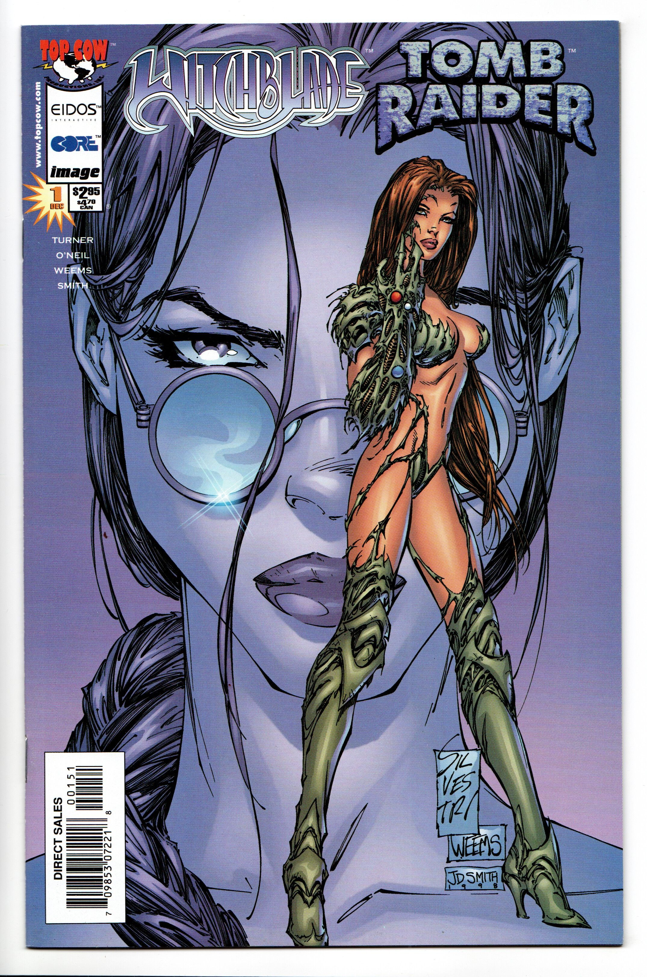 Witchblade Animated #1 VF//NM