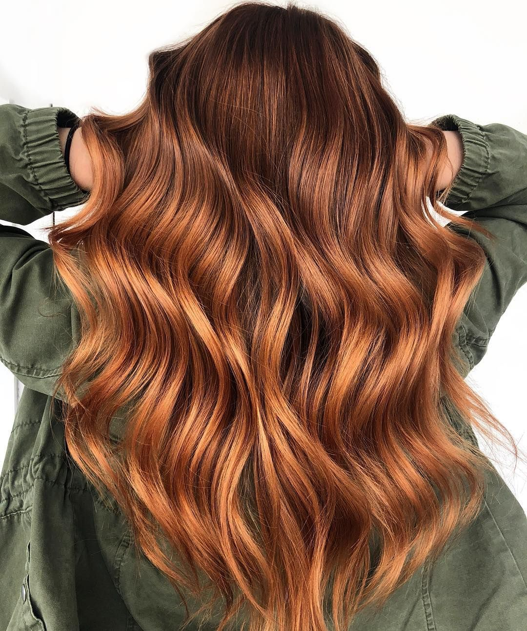 """Photo of Greta Wagner on Instagram: """"Ginger spice 💥 . . . Touched up her babylights with @redken up to 7 20vol and glossed her all over everything with SEQ 8cr, 7c, 7cc equal…"""""""