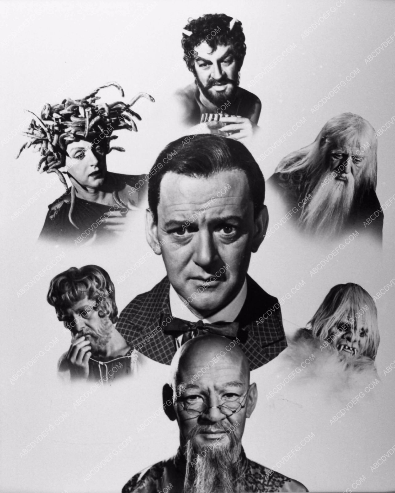 Photo Tony Randall Great Composite Characters The 7 Faces Of Dr Lao
