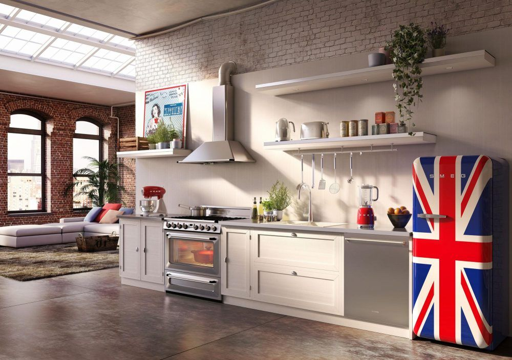 Smeg puts the fun into appliance shopping, and this year was no exception.  Its artistic refrigerators are perfect for game rooms, man caves and other spaces where you want to make a statement.