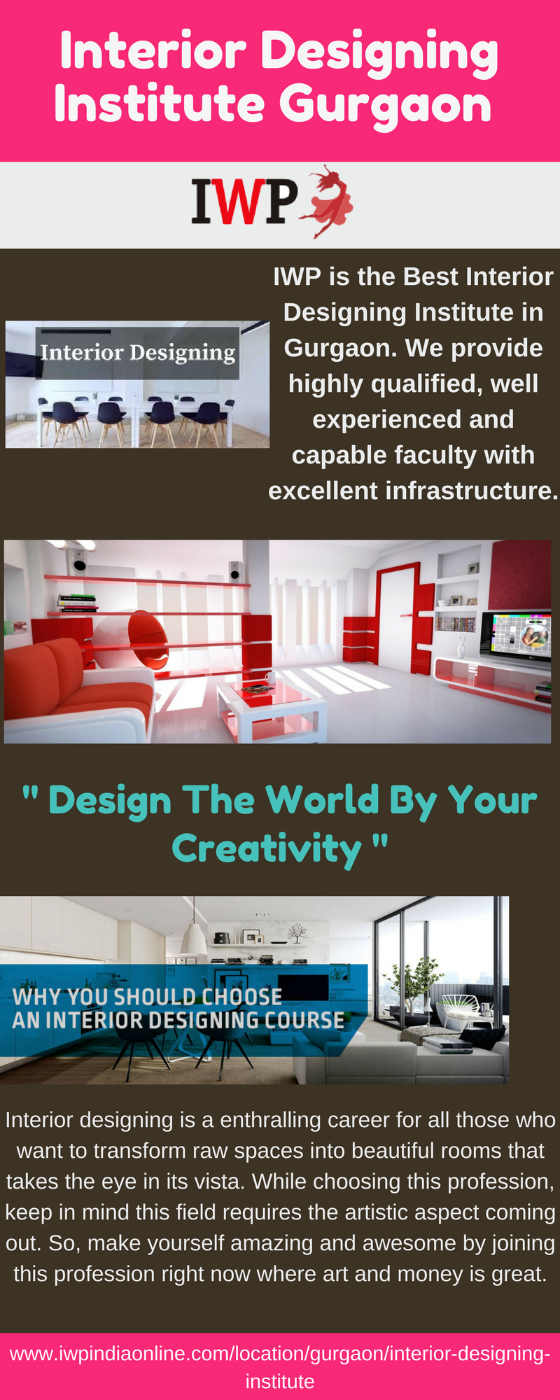 IWP is the great institute for Interior