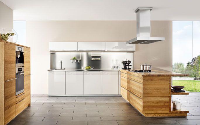 Küchenmöbel «Linee» in Wildeiche Kitchen Pinterest Interiors