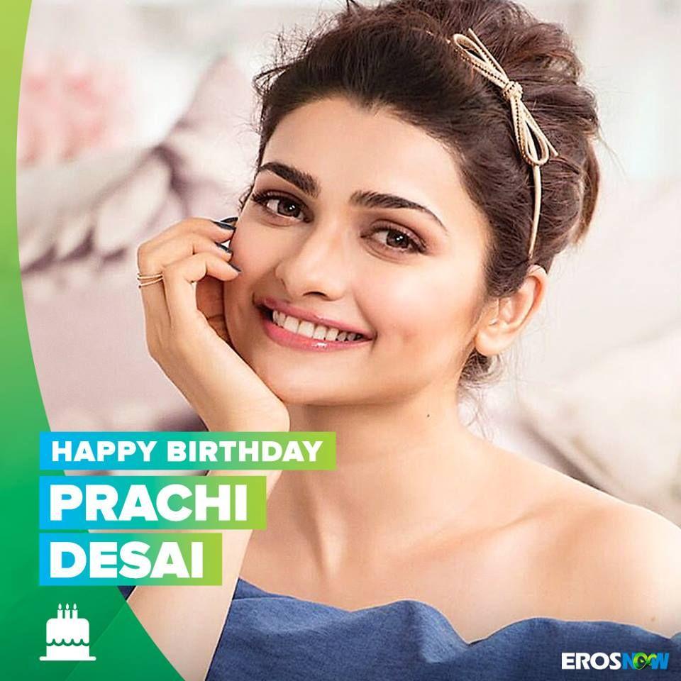 Eros Now wishes Prachi Desai a very Happy Birthday