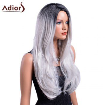 Middle Part Wigs for Black Women