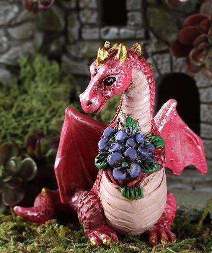 Georgetown Fiddlehead Fairy Garden Flowers Dragon