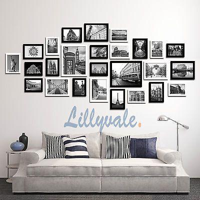Large Multi Picture Photo Frames Wall Set 7/9/13/20/23/26PCS Art ...