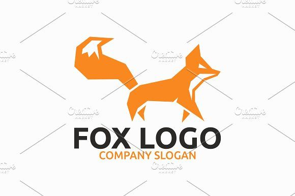 Fox Logo Templates Template FeaturesAI And EPS Illustrator 10 300PPI CMYK 100 Scalable Vector Files Easy By Brandlogo