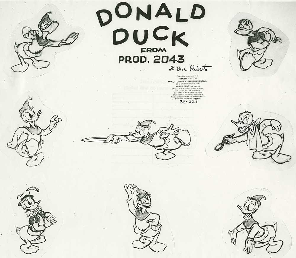Resultado de imagem para donald duck model sheet