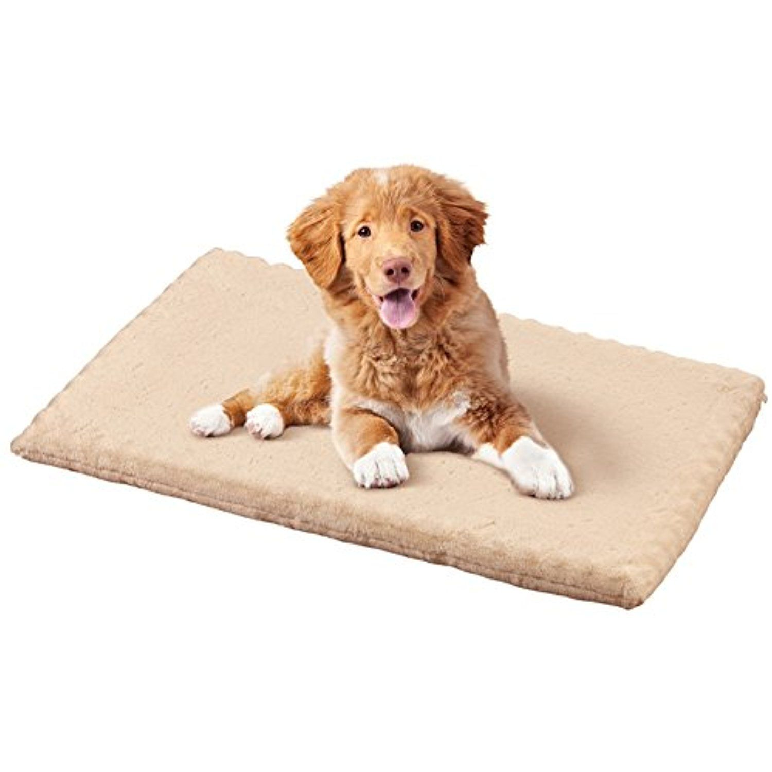 Orthopedic Pet Mat with Removable Cover and Slip Resistant Backing Use Alone or in