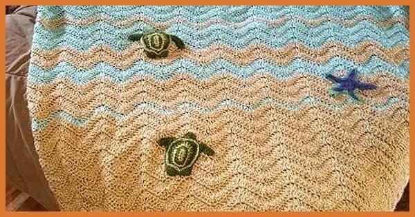 Crochet Turtle Baby Blanket Pattern Dancox for #crochetturtles
