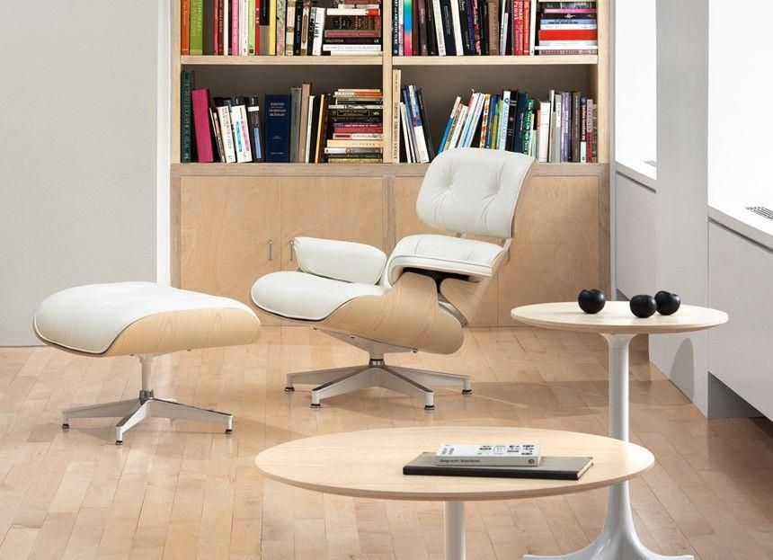 68fd0a1f9e86 Herman Miller Eames® Lounge Chair and Ottoman White Ash - Herman Miller -  Shop by Brand - GR Shop Canada  officechairscanada