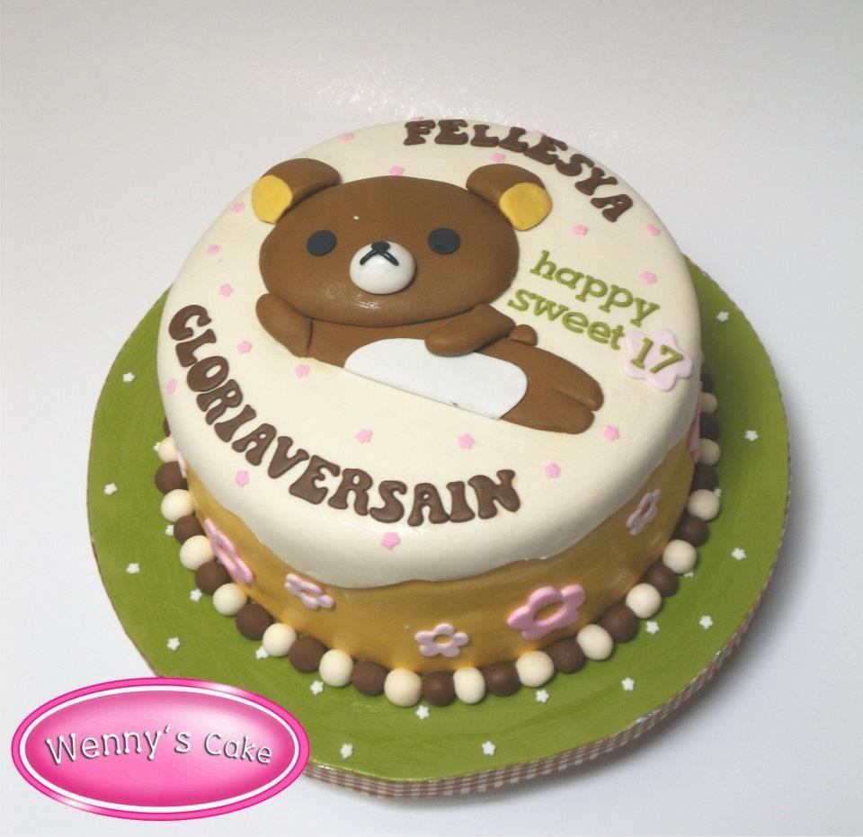 Rilakkuma Cake By Wennys