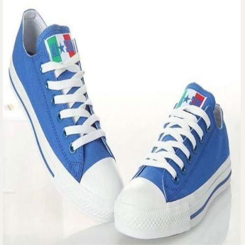 b759e5ecb8ea 2013 Converse All Star World Cup Italia Bandiera Blu scarpe basse Top  Canvas.€37.87