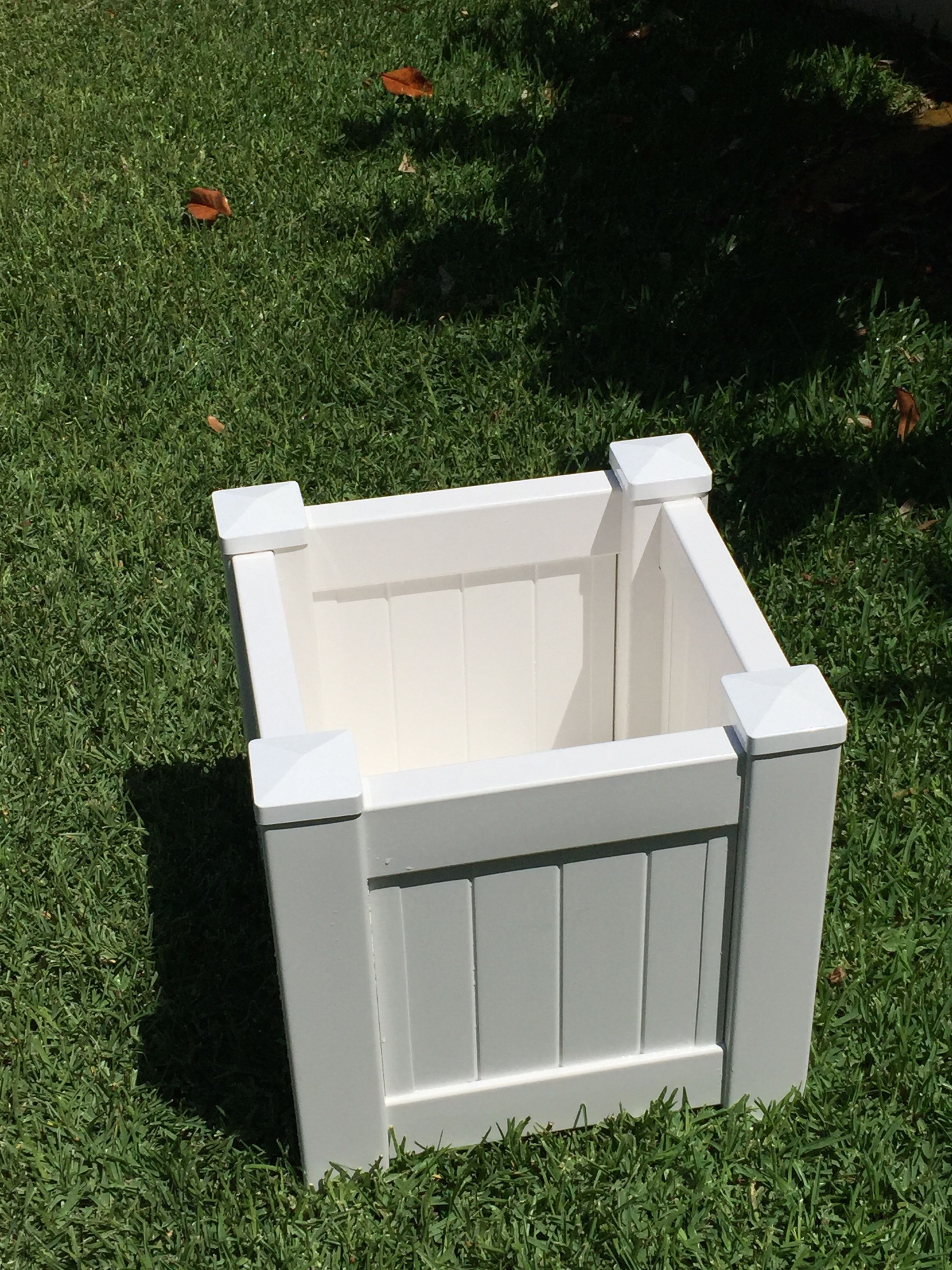 Planter Box all weather buy at www.hamptonsplanterboxes