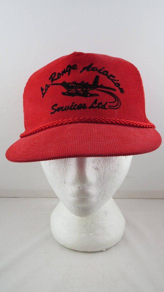 03d2c88005e74 Vintage Aviation Hat - La Ronge Aviation Services - Adult Snapback Vintage Trucker  Hats