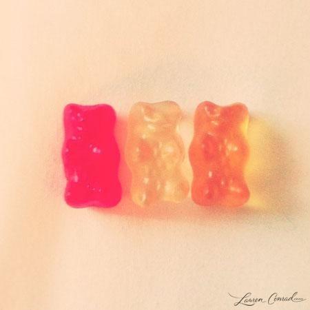 yum... gummy bears! #sweets