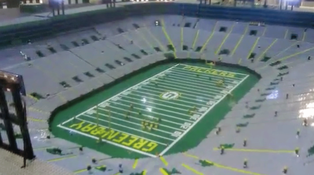 Green Bay Packers Lambeau Field With LEGOs | All About Legos ...