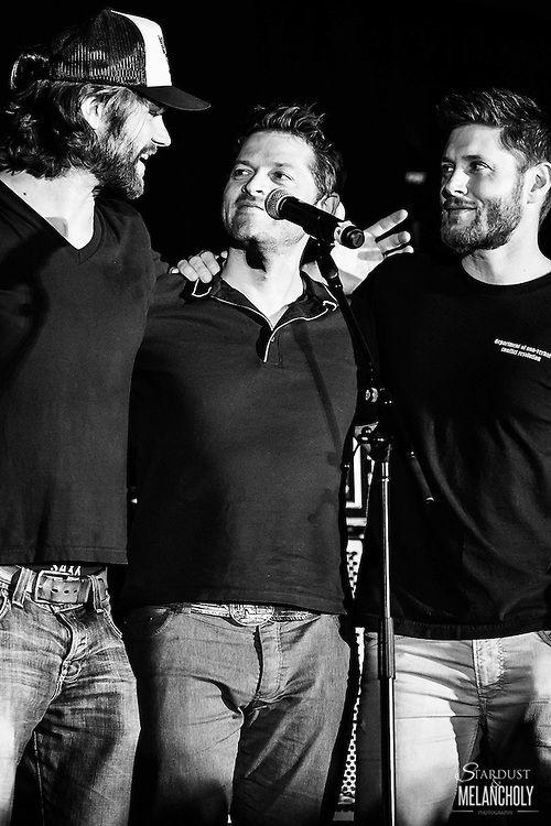 Jared Padalecki, Misha Collins, and Jensen Ackles, Louden Swain Saturday Night Special, Salute to Supernatural Phoenix 2016 | stardustandmelancholy