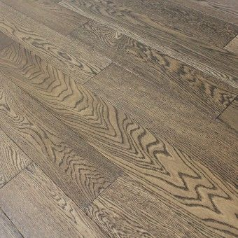 smoked fossil oak brushed oiled engineered wood flooring