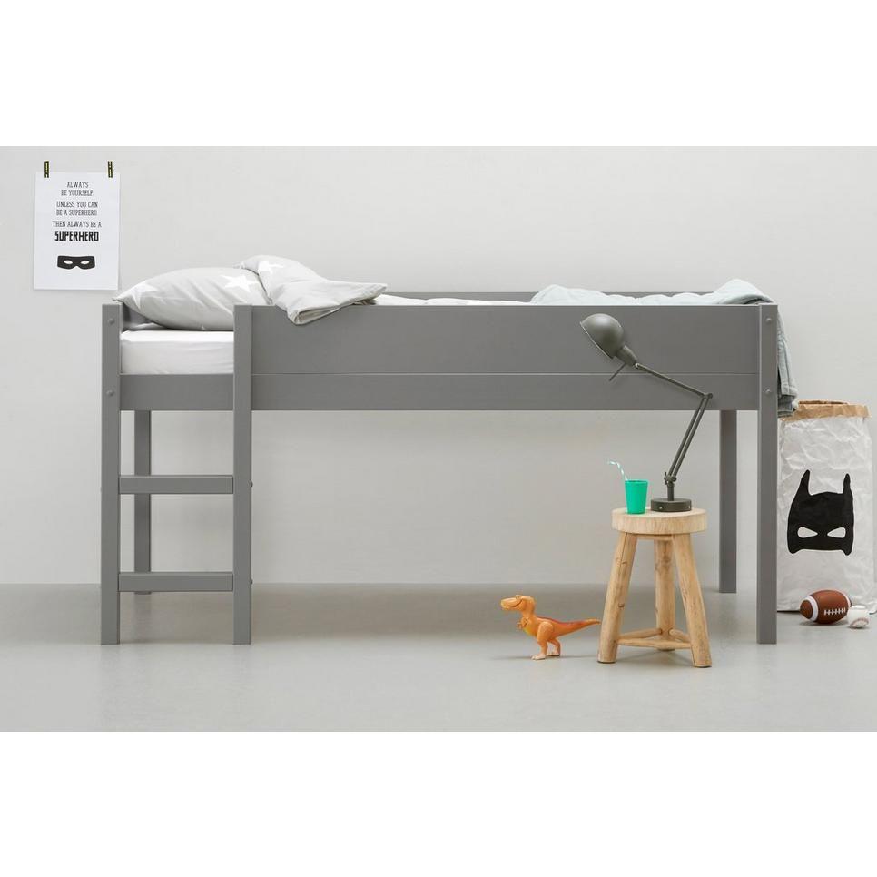 Halfhoogslaper Charlie 90x200 Cm Bed Furniture Boy Room Kids