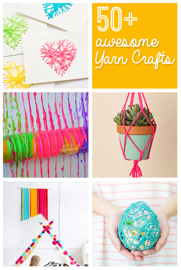 50 Best Yarn Crafts To Make From Savedbyloves Bloggers Best Diy