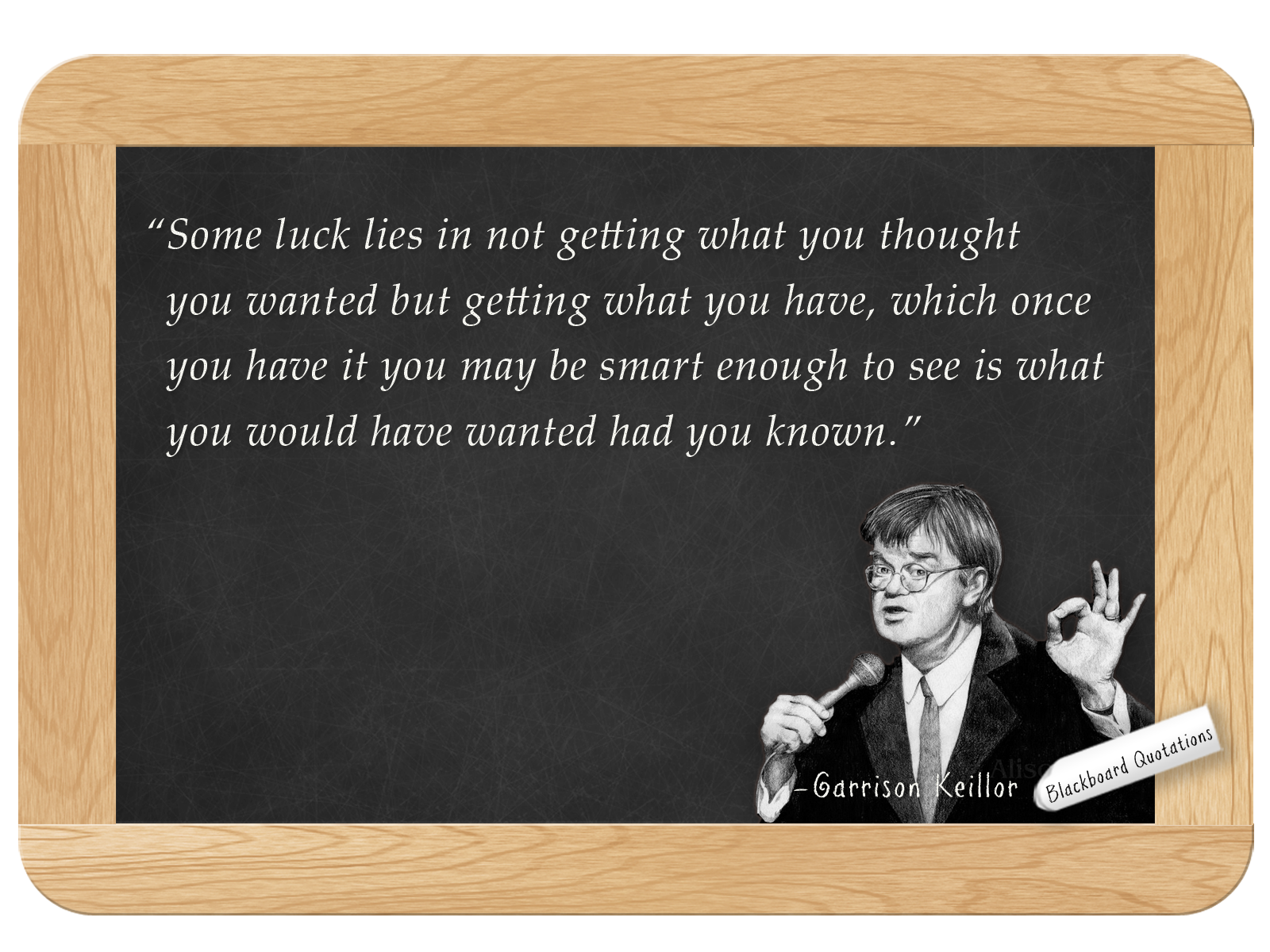 garrison keillor how to write a personal letter