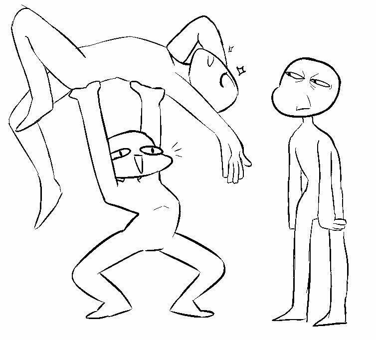 bases de dibujo :v – 5-乁( ˙ ω˙乁)