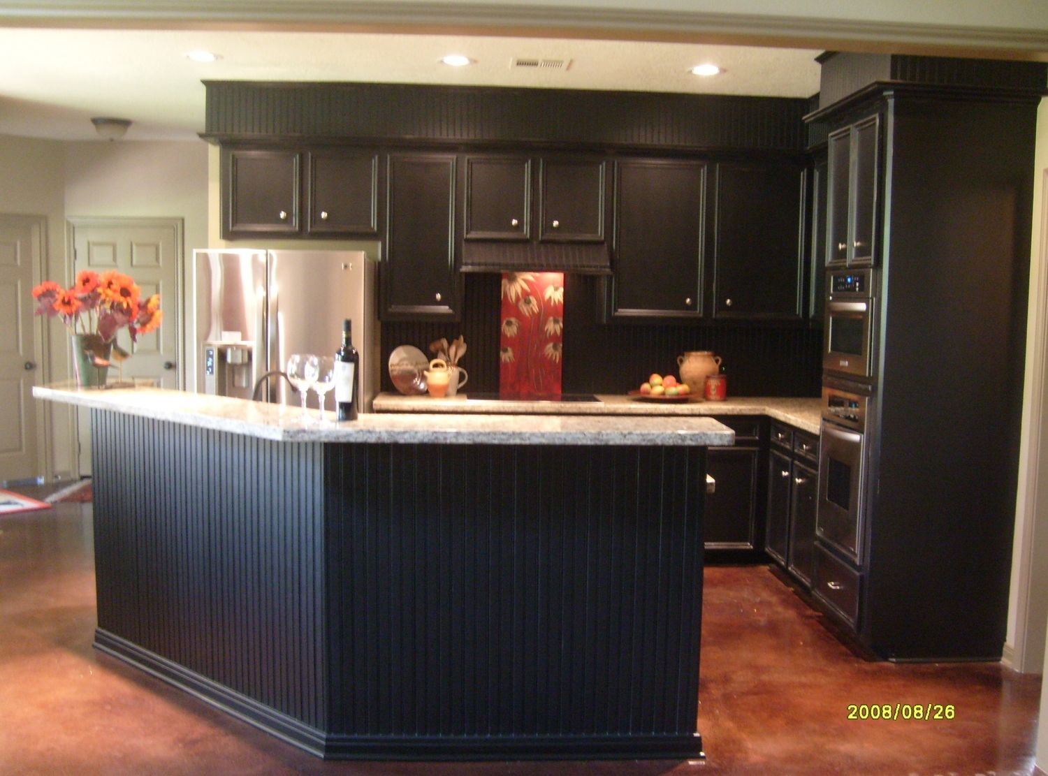 Can T Rip Out Your Kitchen S Furr Downs Do This Designed Kitchen Soffit Kitchen Remodel Small Kitchen Remodel
