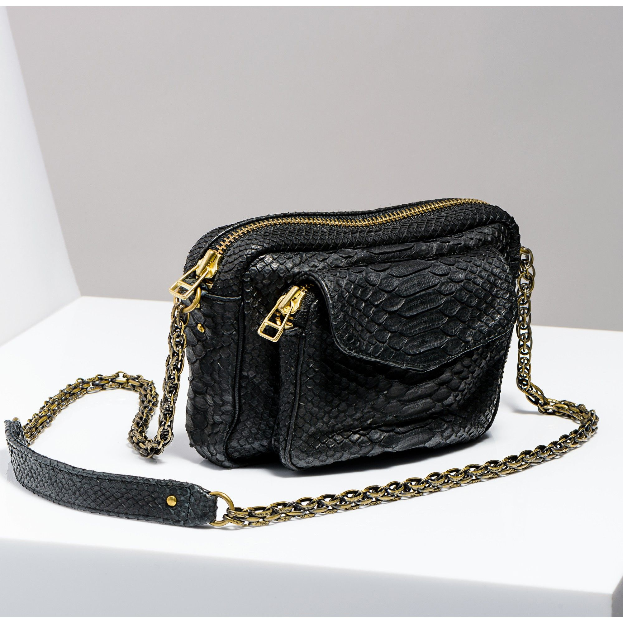 Bien connu Sac bandoulière charly noir Python   Fashion   Pinterest MD03