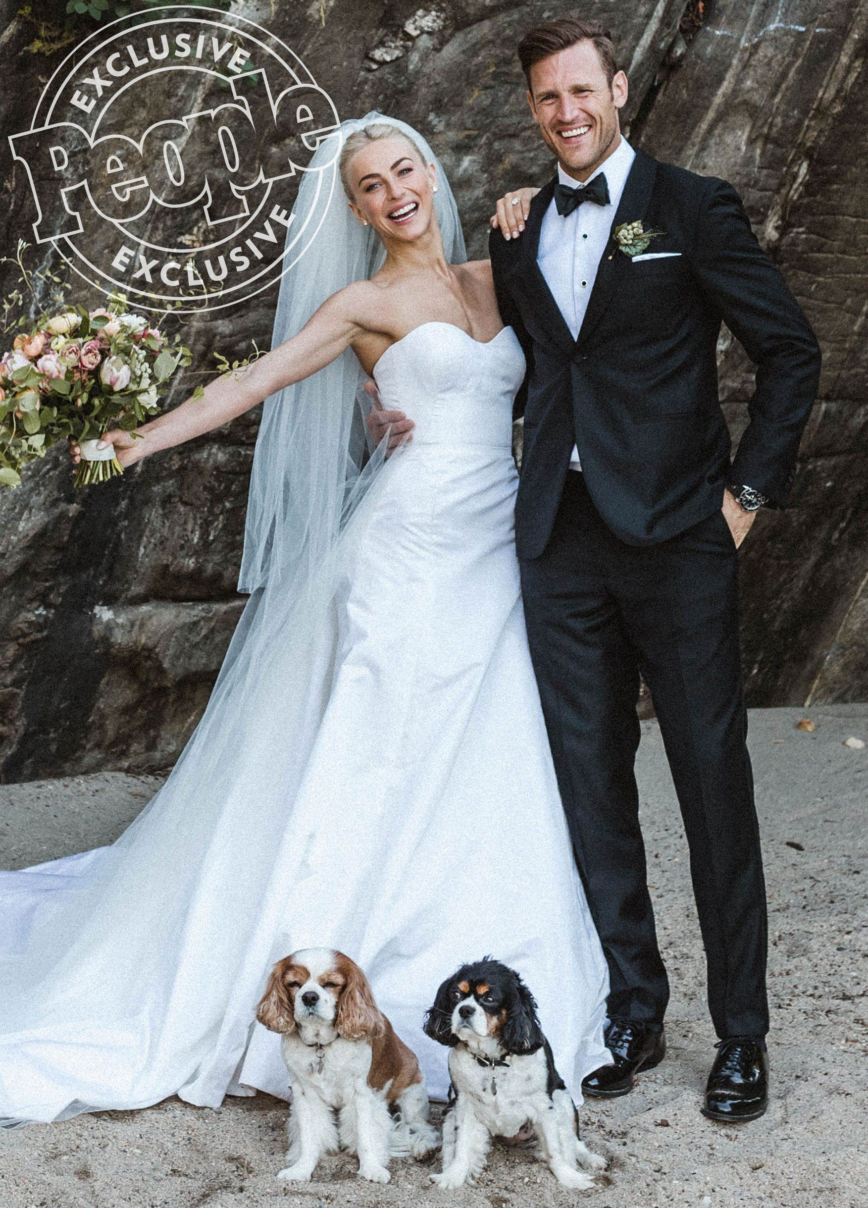 Julianne Hough Is Married! The DWTS Judge Weds NHL Star Brooks Laich ...